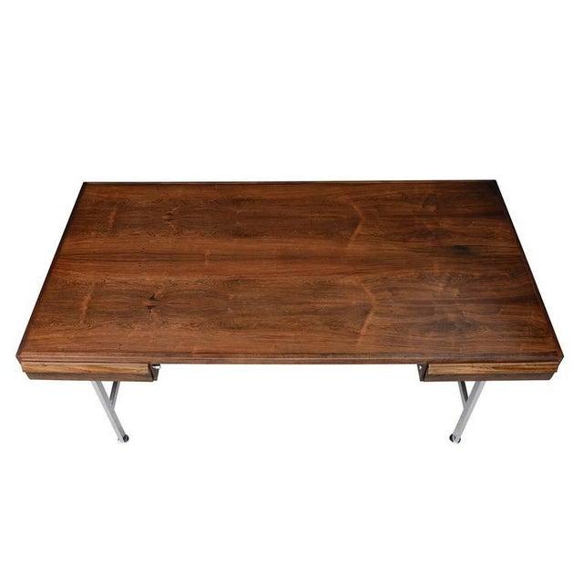 1960s Illum Wikkelsø Rosewood Desk For Sale - Image 5 of 10