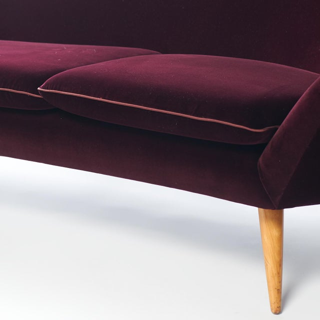 Swedish Three-Seat Sofa Attributed to Kerstin Horlin Holmquist For Sale In San Francisco - Image 6 of 7