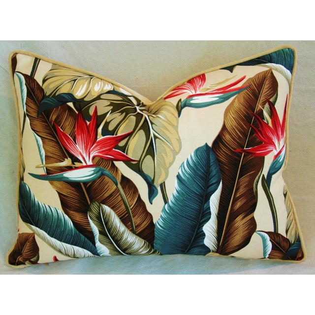 Custom Tropical Bird of Paradise Pillows - A Pair - Image 4 of 11