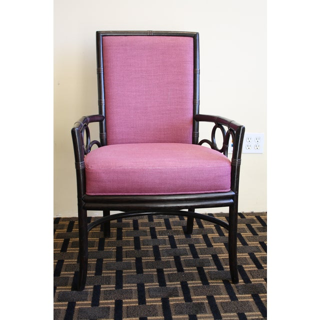 McGuire Laura Kirar Upholstered Armchair - Image 4 of 9