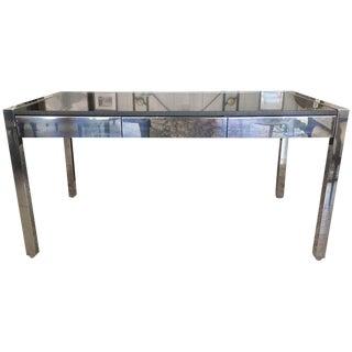 Mid-Century Chrome & Granite Desk