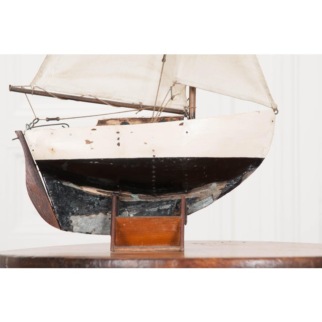 Early 20th Century English Pond Yacht - Image 5 of 12