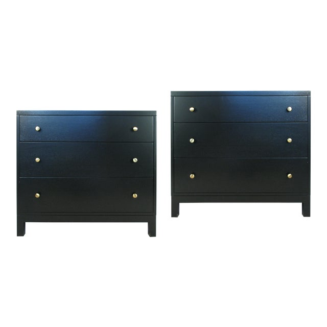 1940s Modern Chests by Widdicomb-a Pair For Sale
