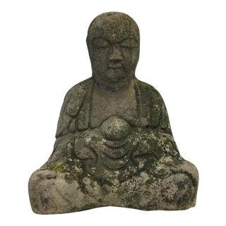 Garden Buddha w/ Original Patina
