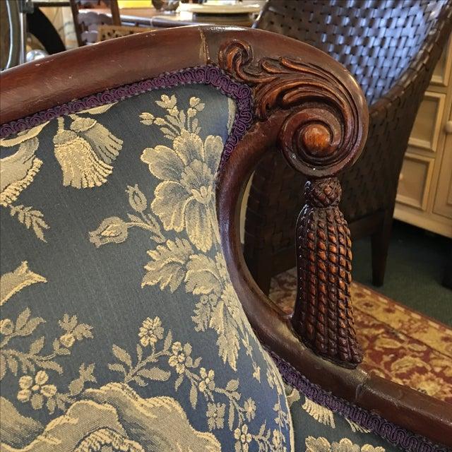 Vintage Victorian Fringe Sofa - Image 8 of 11