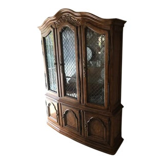 Drexel Cabernet II Dining Room Lighted China Cabinet