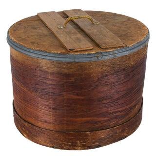 Large Antique Primitive Pantry Box