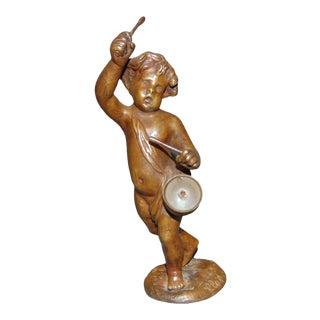 Cloude Michel Clodion Drummer Boy Sculpture Circa 1780 For Sale