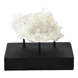 Crystal Clear Points Specimen on Stand For Sale