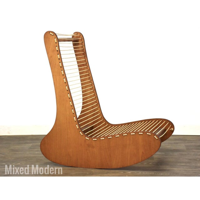 Brown Tubbs Modern Low Lounge Chair Designed by Carl Koch For Sale - Image 8 of 8