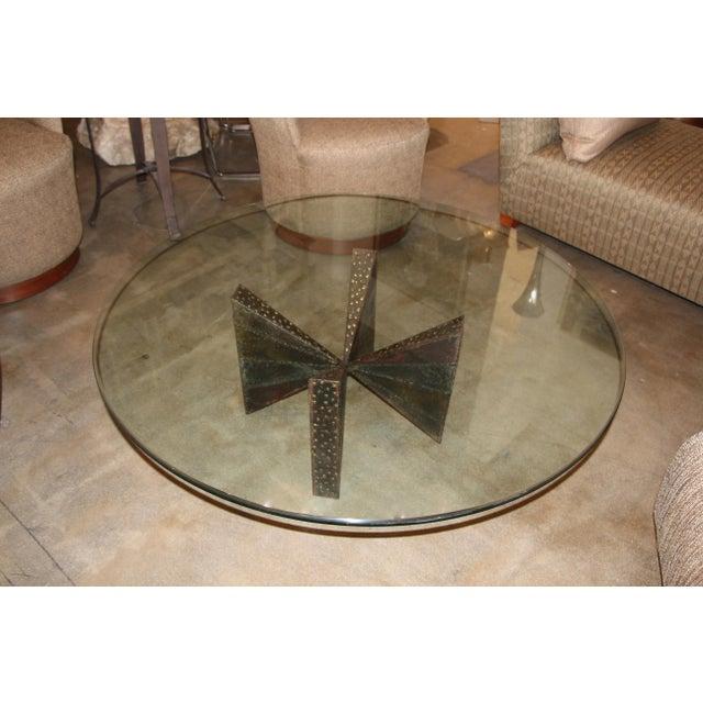 Paul Evans Brutalist Steel Coffee Table For Sale - Image 13 of 13