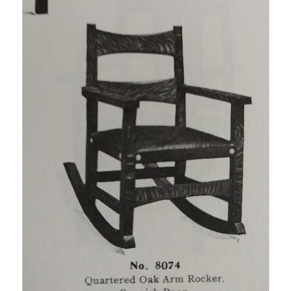 Brown Limbert Limbert #8074 Rocking Chair For Sale - Image 8 of 9