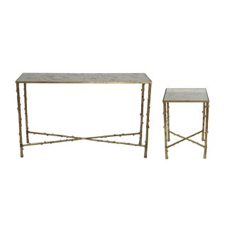 Glostrup Side & Console Tables - a Pair