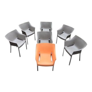 Kartell Dr. No Philippe Starck Chairs - Set of 7
