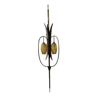 1960s Kitschy Tension Pole Lamp For Sale