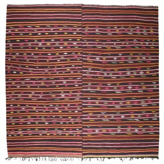 Pair of Banded Kilims