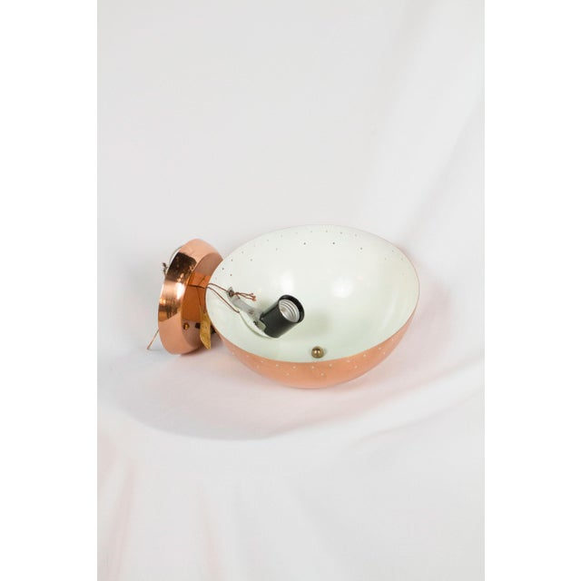 Copper Plated Framburg Sconce For Sale - Image 4 of 4