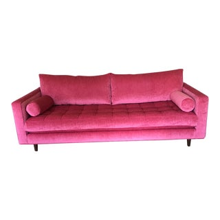 Vintage Mid Century Sofa For Sale