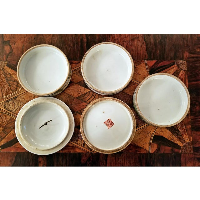 19th Century Tongzhi Dynasty Stackable Bowls With Lid - 4 Pc. For Sale - Image 11 of 13