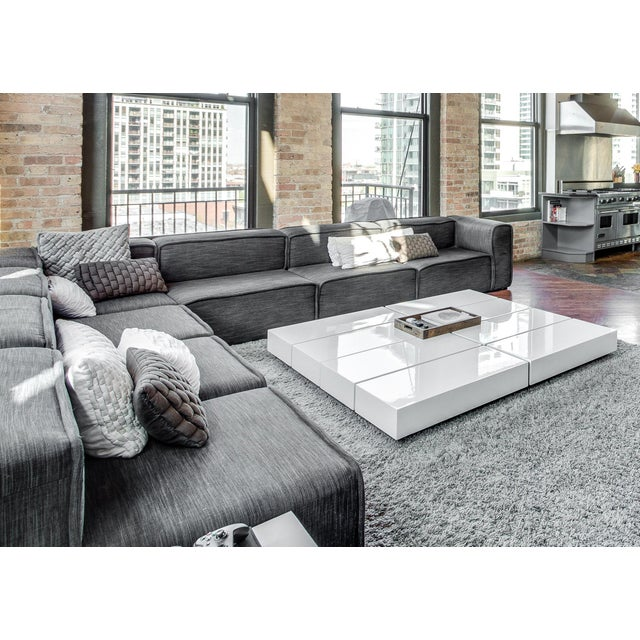 boconcept carmo modern sectional sofa chairish. Black Bedroom Furniture Sets. Home Design Ideas