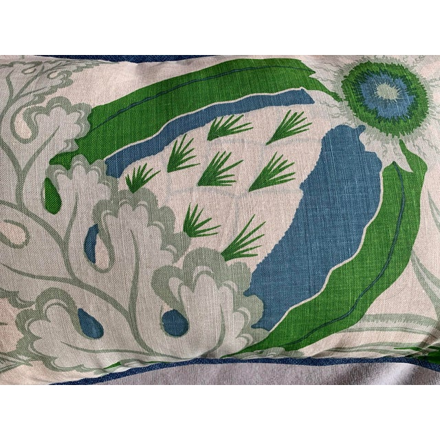 Christopher Farr Cloth Lumbar Pillows - a Pair For Sale - Image 4 of 5
