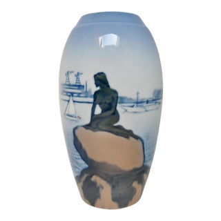 Royal Copenhagen Porcelain Vase For Sale