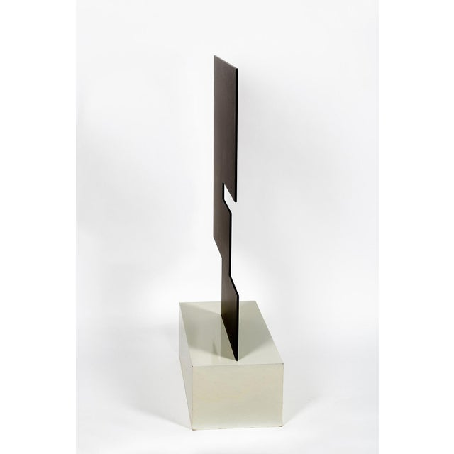 Theodore Bally Metal Sculpture For Sale - Image 6 of 10