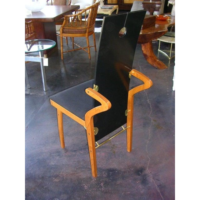 Modern 1980s Vintage Pierre Cardin Chair For Sale - Image 3 of 5