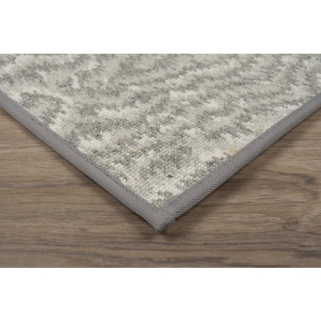 "Contemporary Stark Studio Rugs Rug Vero - Zinc 9""x9"" Sample For Sale - Image 3 of 4"
