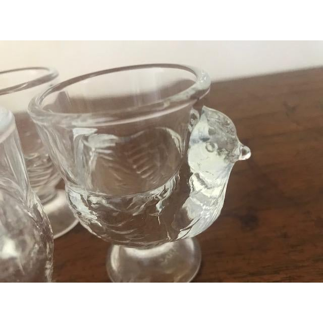 French Late 20th Century Vintage French Egg Cups - Set of 6 For Sale - Image 3 of 7