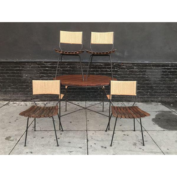 Mid-Century Modern Beautiful Mid Century Modern Dining Set by Arthur Umanoff For Sale - Image 3 of 9