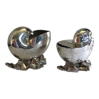 19th Century Victorian Spoon Warmers - a Pair