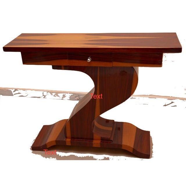 Contemporary Art Deco Style Console Table Chairish