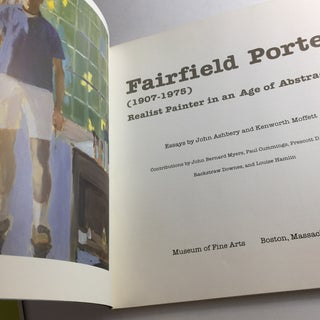 1982 Fairfield Porter Museum of Fine Arts Book Preview