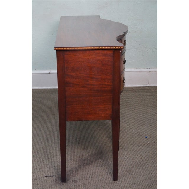 Marlboro Manor for Sacks 1920s Mahogany Sideboard For Sale - Image 7 of 10