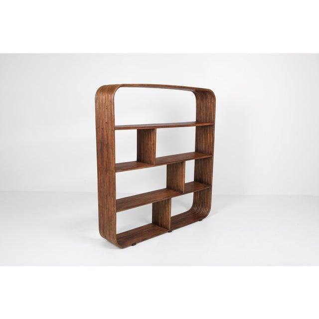 Bamboo étagère Room Divider Henry Olko - 1970 For Sale - Image 6 of 9