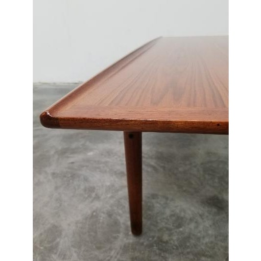 Mid-Century Modern 1960s Mid-Century Danish Coffee Table by Grete Jalk For Sale - Image 3 of 11
