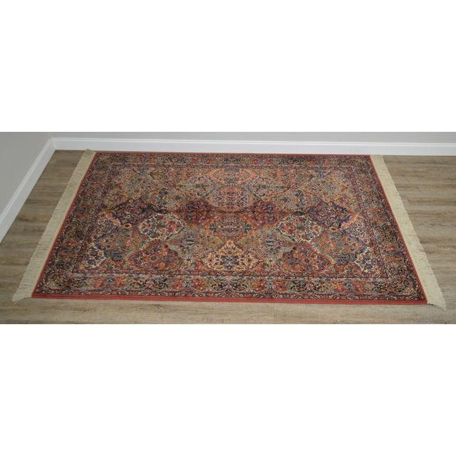 Traditional Karastan Multicolor Panel 5.9 X 6.9 Area Rug # 717 For Sale - Image 3 of 13