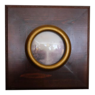 Picturesque Turner Scene With Convex Glass For Sale