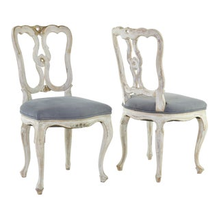 20th Century French Side Chairs - a Pair For Sale