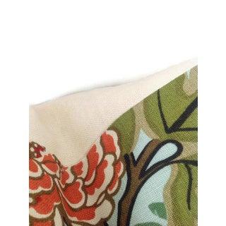 Schumacher Aquamarine Chiang Mai Dragon Pillow Cover Preview