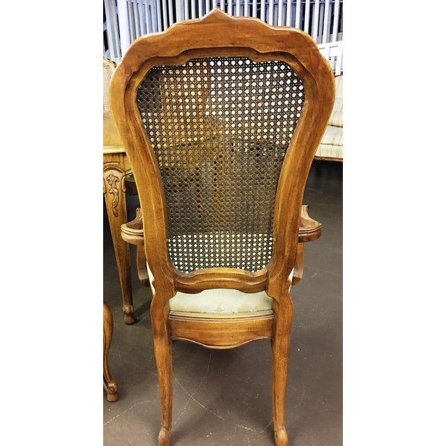 Vintage Thomasville French Court Dining Table & Chairs