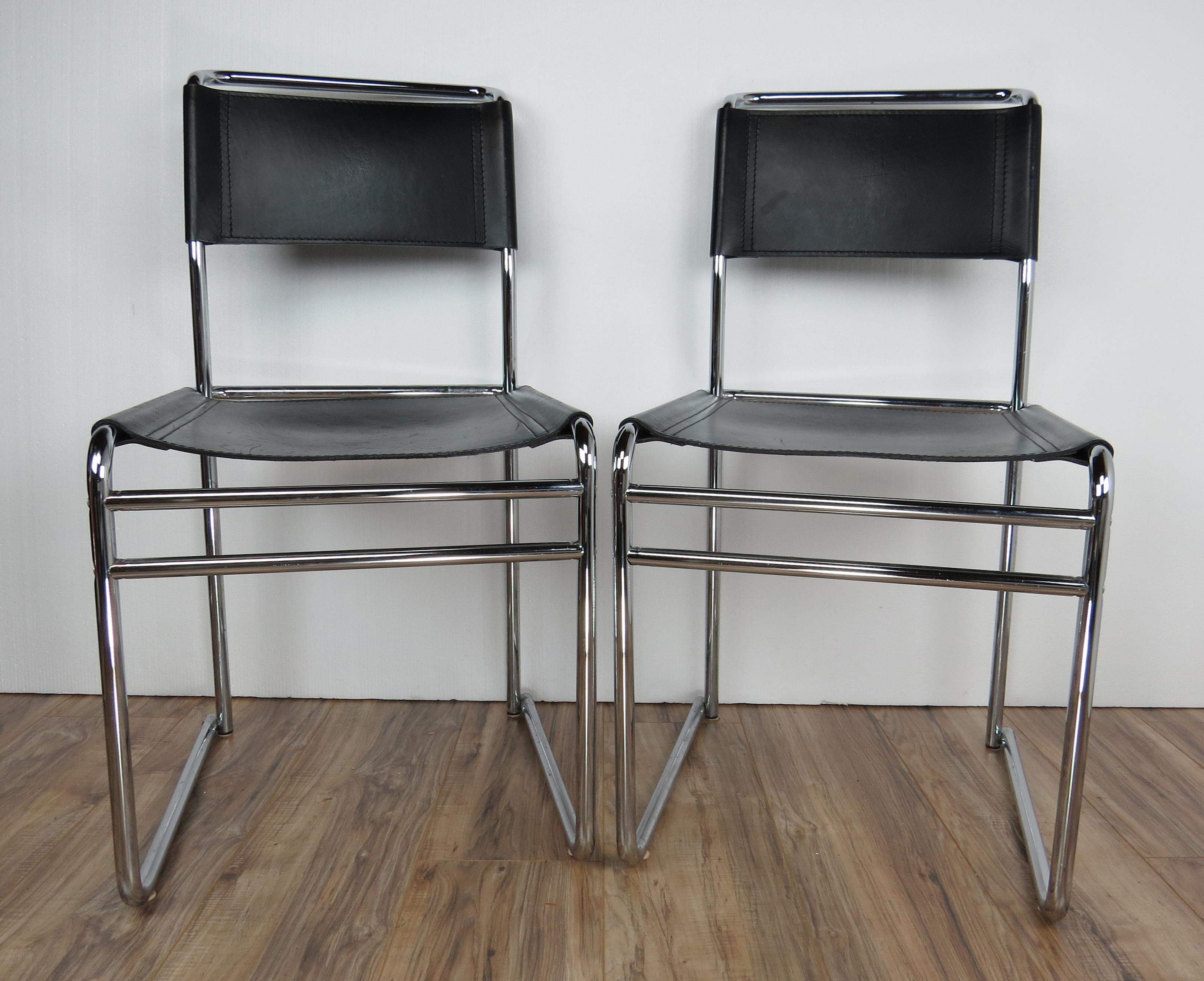 Marcel Breuer Vintage Mid Century Bauhaus Designer and Architect Marcel Breuer B5 Chairs - Set of  sc 1 st  Chairish & Vintage Mid Century Bauhaus Designer and Architect Marcel Breuer B5 ...