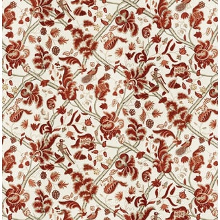 French Country Lee Jofa Oscar De La Renta Bloomsbury Linen Designer Fabric by the Yard For Sale