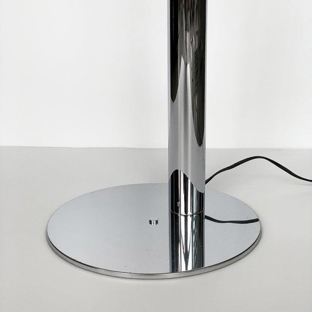 Robert Sonneman Polished Chrome Floor Reading Lamp For Sale - Image 10 of 13