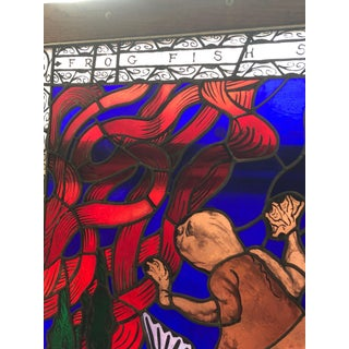 Magnificent Artist Made Stained Glass Window Preview