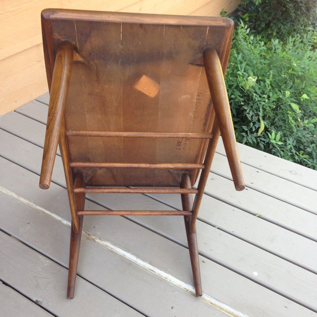 Danish Mid Century Modern Surfboard Side Table - Image 7 of 7