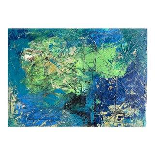 "Christy Almond ""Movement II"" Original Abstract Acrylic Painting"