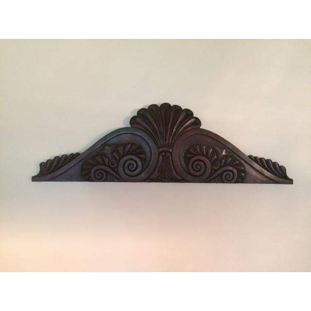 Antique 19th Century English Pediment For Sale - Image 4 of 4