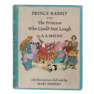 "1966 ""1st Edition, Prince Rabbit/The Princess Who Could Not Laugh"" Coffee Table Book For Sale"